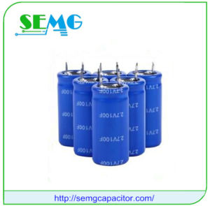 10000UF 350V Aluminum Electrolytic Starting Capacitor Fan Capacitor pictures & photos