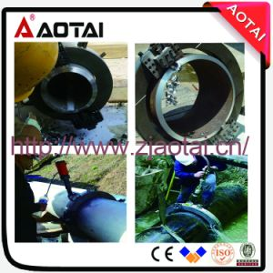 Split Frame Clamshell Orbital Pipe Cutting and Beveling Machine pictures & photos