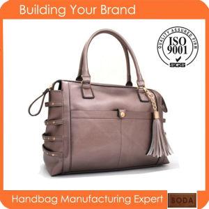 Wholesale New Trendy Famous Fashion Leather Handbags pictures & photos