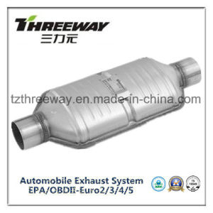Car Exhaust System Three-Way Catalytic Converter #Twcat031 pictures & photos