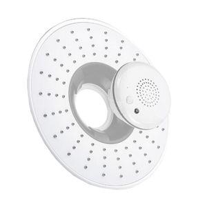 8 Inch ABS Shower Head with Waterproof Bluetooth Speaker