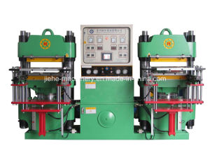 High-Precision Full-Automatic Front-Style Rubber Hydraulic Molding Machine Made in China pictures & photos