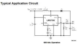 Integrated Circuit of Step-up PWM DC/DC Converter IC Lm2700mt-Adj pictures & photos