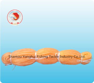Nylon Monofilament Fishing Net with Orange Color pictures & photos