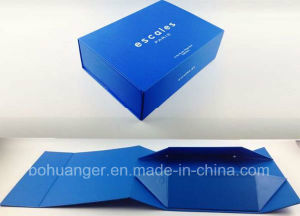 Top Grade Royabl Blue Collapsible Paper Box