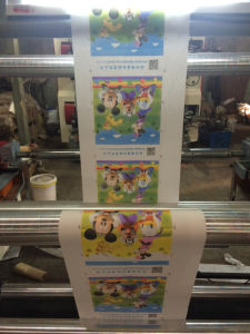 PE Plastic Bag Flexographic Printing Machine pictures & photos