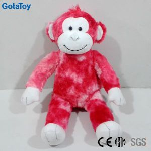 High Quality Custom Plush Pink Monkey Stuffed Soft Toy pictures & photos