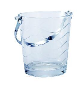 Ice Bucket with Toughened Glass pictures & photos