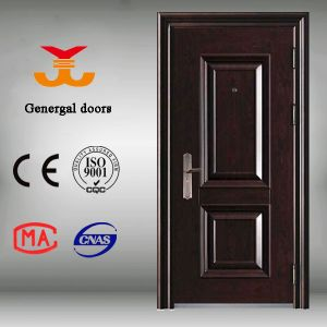 Cheap Steel Chinese Security Doors pictures & photos