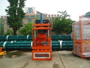 Sy1-10 Automatic Hydraulic Brick Making Machine in Guangzhou China pictures & photos