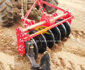 Tractor-Driven Disk Plow 1lyq-520 Tractor Pto Rotary Plough pictures & photos