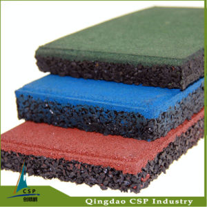 Top Rubber Flooring Tile From China pictures & photos