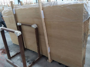 Beige Travertine for Flooring or Wall-Cladding in Slabs/ Tiles