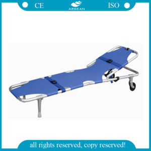 AG-2b4 Hot Sell Aluminum Folding Stretcher pictures & photos