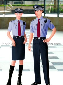 Comfortable and Fashionable Security Uniform-Seu01 pictures & photos