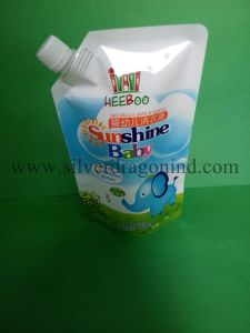 Stand up Spout Pouch for Wash Liquid pictures & photos