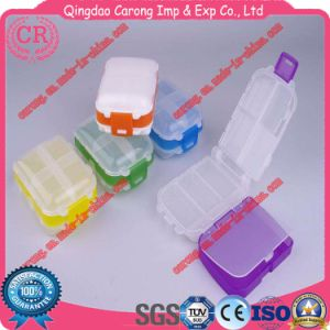 Plastic Durable Pill Container Easy to Carry pictures & photos