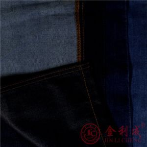 Qm2806-2 Denim Fabric for Readymade Garment pictures & photos