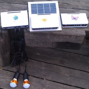 Factory Original Solar Power LED Lighting Kits System 1W*3PCS LED Light pictures & photos