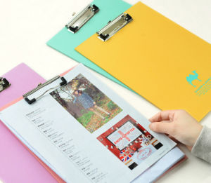 Practical Colorful Paperboard Document Folders pictures & photos