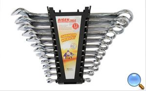12PCS SGS Approved Plastic Case Combination Wrench Set