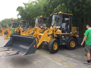 Mini Zl16 Same as John Deere Fully Hydraulic Ce Construction Small Mini Front Wheel Loader pictures & photos