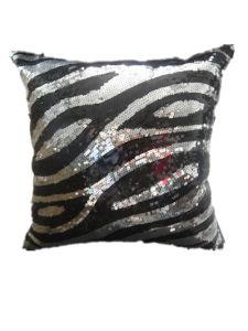 Decorative Pillow Case Sr-C170223-8 High Fashion Sequin Decorative Cushion pictures & photos