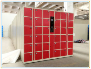 36 Openings Electronic Steel Barcode Locker pictures & photos