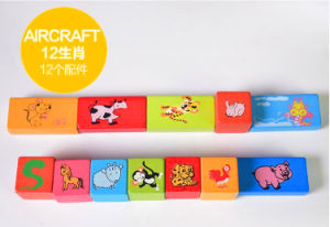 Cheap Price Wooden Blocks Heat Tramsfer Film pictures & photos
