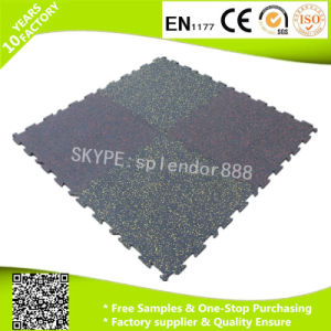 Rubber Tile /Recycle Rubber Floor Bricks /Crossfit Gym Rubber Flooring pictures & photos