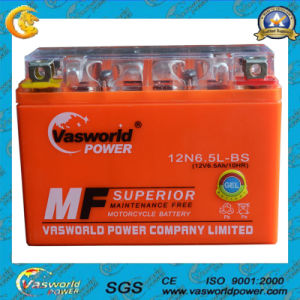 12V Small Sealed Lead Acid Battery Gel Motorcycle Battery 12V Motorcycle Battery 12V6.5ah pictures & photos