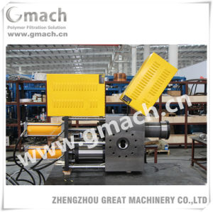 GM-Dp-L Series Plastic Recycling Machine Host Extruder Used Continuous Screen Changer pictures & photos