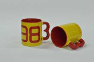 11oz 3 Handle Promotion Mug pictures & photos
