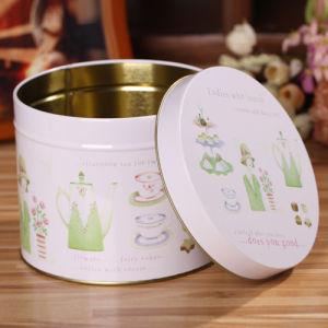 Polka Dots Metal Gift Tin Storage Box for Packing Mugs pictures & photos