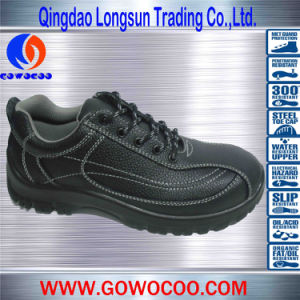 Newest Design Comfortable Double Density PU Sole Work Shoes (GWPU-1020)