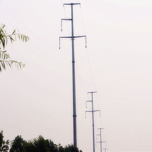 110 Kv Power Transmission Pole pictures & photos