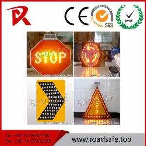 Roadsafe Road Safe Illuminated Aluminum Warning Traffic LED Sign Symbols Traffic Sign pictures & photos