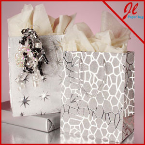 Twisted Handle Paper Wine Bags Kraft Paper Bags for Wine pictures & photos