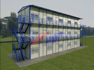 Prefabricated House with Light Steel Frame (new model) pictures & photos