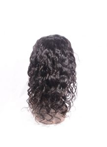 Indian Remy Human Hair Loose Wave Full Lace Wig with Natural Hairline pictures & photos