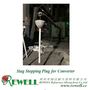Slag Stopping Plug for Converter pictures & photos