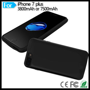 """7500mAh Portable Charger Power Backup Battery Pack for iPhone 7 Plus 5.5"""" Battery Case Cover pictures & photos"""