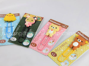 New Cartoon 3D Soft PVC Bookmark pictures & photos