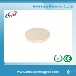Customized Rare Earth Permanent Disc Magnet pictures & photos