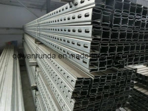 U Profile Steel C Channel Steel Cold Rolled Steel Frame pictures & photos