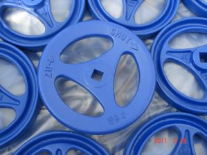 Sand Casting Ductile Iron Casting Hand Wheel with Paint Spraying pictures & photos