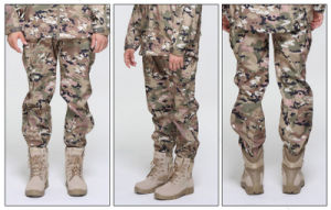 Fashion Sublimation Printing Waterproof Uniform Army Camouflage Men′s Pants pictures & photos