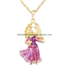 Christmas Jewelry/Christmas Necklace/Christmas Angel (XJW13333) pictures & photos