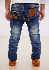 New Spring Autumn Children′s Clothing Boys Casual Jeans pictures & photos