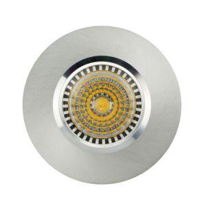 Lathe Aluminum GU10 MR16 Round Fixed Recessed LED Spotlight (LT2000) pictures & photos